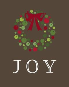 JOY.wreath