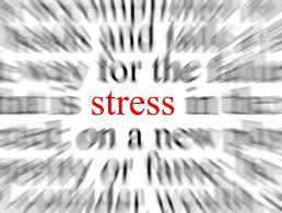 Stress blurred image